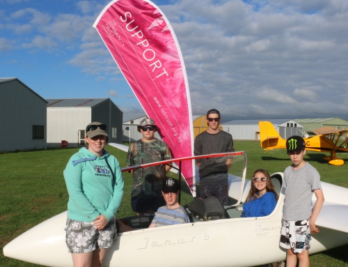 Youth Soaring Development Camp Taranaki 2018