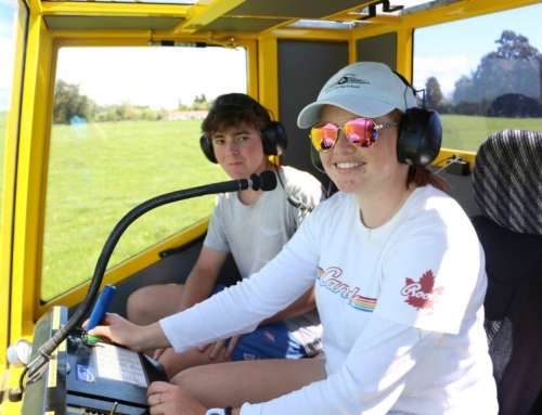 Youth Glide New Zealand launches winch project at Omarama